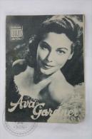 Old 1950´s Small Magazine Cinema/ Movie Actors - 28 Pages, 12 X 16 Cm - Actress: Ava Gardner - Revistas