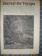 LE JOURNAL DES VOYAGES 16/10/1892 MARAIS DE DEDLOW ILES MALAISES OELOES POULO PINANG MERAPI PASUMAH PORTUGAL ARMEE - Books, Magazines, Comics