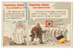 WAR 1939-45 - Imprensa Alemã  -    Cartes  Postales - Weltkrieg 1939-45