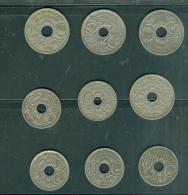 20 Scans  - Lot De 9 Pieces Type Lindauer   - Lire Détail - Pia82 - Frankreich