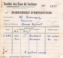 N 59 COPPENAXFORT par BOURBOURG NORD 1953 St� DES EAUX DE LUCHEUX � DORMIGNY