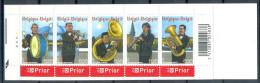 Belgique B57 Fanfare Grosse Caisse Bugle Sousaphone Clarinette Tuba 2005 MNH XX - Markenheftchen 1953-....