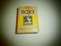 Paquet De Cigarettes Naja Tabac D'Orient SEITA Prix 8 Fr Neuf En Parfait état - Non Classés