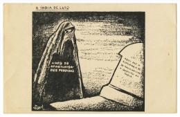 WAR 1939-45  - A India De Luto   -    Cartes  Postales - Weltkrieg 1939-45
