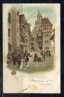 CPA  Exposition Universelle De 1900 , Le Vieux PARIS Oblité Sage TYPE I Peut Etre N° 64  . Voir Recto Verso   (T001) - Expositions