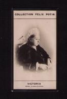Petite Photo 1ère Collection Félix Potin (chocolat), Victoria, Reine D'Angleterre, Vers 1900 - Albums & Collections
