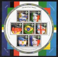 Gibraltar 2006 _ Mi 1158/64 Mini Sheet > FIFA World Cup 2006 German > Football , Soccer > New MNH ** - World Cup