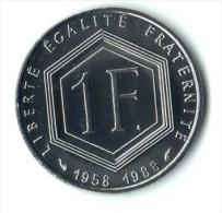 ** 1 FRANC COMMEMO. 1988 CHARLES DE GAULLE  FDC   ** - H. 1 Franc