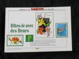 Timbroloisirs   Supplément N° 7  ( Thème : Les Fleurs) - Français (àpd. 1941)
