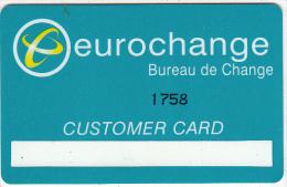 GREECE - Eurochange, Customer Card, Used - Geldkarten (Ablauf Min. 10 Jahre)