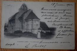 41 : Saint-Aignan-sur-Cher - Vue De St-Lazare - Animée : Petite Animation - Type Précurseur 1902 - (n°2979) - Saint Aignan