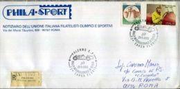 RACCOMANDATA INTEGRA CON BOLLI SPECIALI 77 TARGA FLORIIO 1993 RRR - Automobilismo