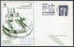 1973 Germany St Peter Ording Hovercraft First Flight Exercise Symphony - Transport