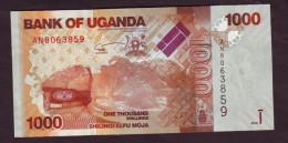 UGANDA - 1000 Shillings - 2010 - Uganda