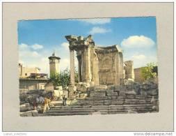 ...... CARTE POSTALE Postcard Pc LEBANON LIBAN LIBANON BAALBECK VENUS TEMPLE 60s