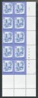 ÖSTERREICH  - Mi.Nr.     1649   10er Streifen       Postfrisch             1x Gefaltet - 1971-80 Unused Stamps