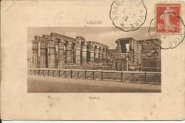 """Cachet De Convoyeur """"Granville à Vire"""" Du 3-7-1913 Sur CPA De Louxor (Egypte) !! - Postmark Collection (Covers)"""