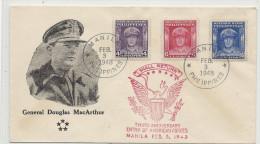 1948 Genaral Douglas Mac Arthur - Philippines