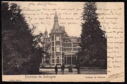 JODOIGNE - GELDENAKEN - ENVIRONS - ANIMATION - Expédiée 1902 - Jodoigne