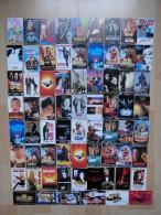 LOT OF 123 CARDS  FILMS SERIALS MOVIES VARIOUS - Cinema