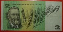 + COMMONWEALTH OF AUSTRALIA ★ SHEEP ★ 2 DOLLARS ND (1966-1972)! LOW START ★ NO RESERVE! - 1966-72 Reserve Bank Of Australia