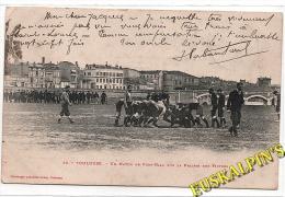 CPA TOULOUSE, La Prairie Des Filtres, Match De Rugby, Stade Toulousain, 1903, Photo LABOUCHE - Toulouse