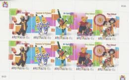 Australia 1999 Children´s TV Sheetlet MNH - Sheets, Plate Blocks &  Multiples