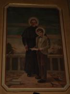 Don GIOVANNI BOSCO E S.DOMENICO SAVIO  -  Dipinto Chiesa S.Maria Assunta E S.Rocco FILAGO,Bergamo / Fotografia - Religione & Esoterismo
