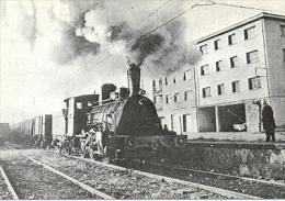 7f-941. Postal. Locomotora Don Pelayo. El Entrego - Trains
