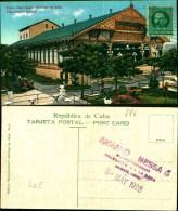886) CARTOLINA DI SANTIAGO DE CUBA-TEATRO VISTA ALLEGRE-VIAGGIATA - Postcards