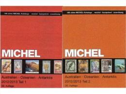 Australien Teil 1+2 Briefmarken A-Z MICHEL Katalog 2013 Neu 158€ Australia Stamps Catalogue Color Part I+II From Germany - Télécartes