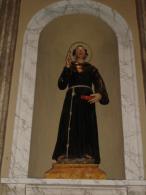 S.BERNARDINO da SIENA - statua  Chiesa S.Siro e Sepolcro CREMONA /  fotografia