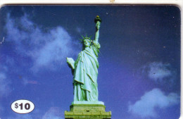 USA  STATUE LIBERTE  LIBERTY 10$ UT NYC PHONECARD RARE
