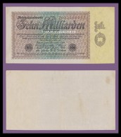 1923 GERMANY RARE 10 MILLIARDEN KRAUSE 116a VERY GOOD CONDITION - 10 Milliarden Mark