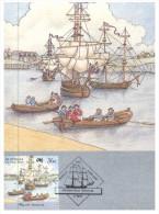 (199) Australia - Maxicard - First Fleet - Histoire