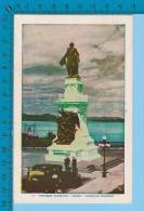 Quebec Canada ( Old Car At Monument Champlain Ed: Laurenzo Audet) Postcard Carte Postale Recto/verso - Histoire