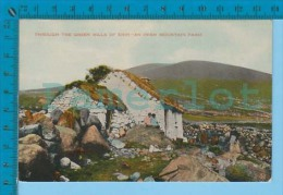 Erin ( Irish Mountain Farm ) Post Card Carte Postale 3 Scans - Irlande