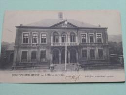 JEMEPPE-SUR-MEUSE L'Hôtel De Ville / Anno 1908 ( Zie Foto Details ) !! - Jemeppe-sur-Sambre