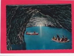 Grotta Azzurra, Capri,  Sorrentine Peninsula,Italy, U24. - Napoli (Naples)