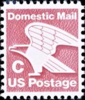 1981 USA (20c) Rate Change C - Eagle Stamp Sc#1946 Post Bird - Naturaleza