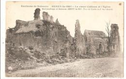 BERZY LE SEC  Le Vieux Chateau Et L'église - Altri Comuni