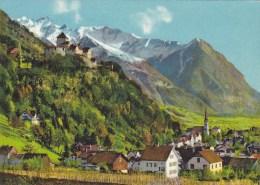 SCHLOSS VADUZ MIT RAPPENSTEIN - Liechtenstein