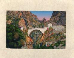 50185    Italia,    Grimaldi-Ventimiglia,    Ponte  San   Luigi,    Frontiera  Italiana, RM.,   NV - Imperia