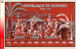 Burundi BL 0133**   Noel 1993  MNH