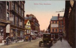 ALTE AK  MANCHESTER /  Lanca. / GB  - Market Place -  Ca. 1910 - Manchester