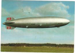 Cartolina - 1937 - 003 - LZ 129 Hindenburg - Red Cancel 30.4.1937 3. Mai Deutsche Zeppelin-Reederei - (Probable Reprint) - Dirigibili