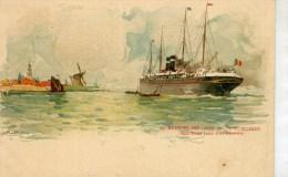 ANTWERPEN - BATEAUX - Illustration De Henri CASSIERS - Antwerpen