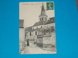 94) Villecresnes - L'eglise ' Vue De Coté   - Année 1911  - EDIT - Marcin - Villecresnes
