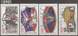 1989 - YT 1243 à 1246 ** - Val Cat: 18.00 Eur. - Neufs