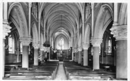 CORBELIN Interieur église -carte Photo  195? - Autres Communes